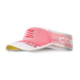 Visera ultralight v2 25x rosada , Compressport