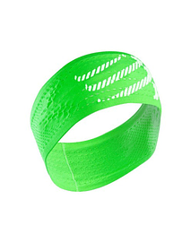 Head band ON/OFF verde fluor, Compressport