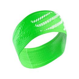 Head band ON/OFF verde fluor, Compressport