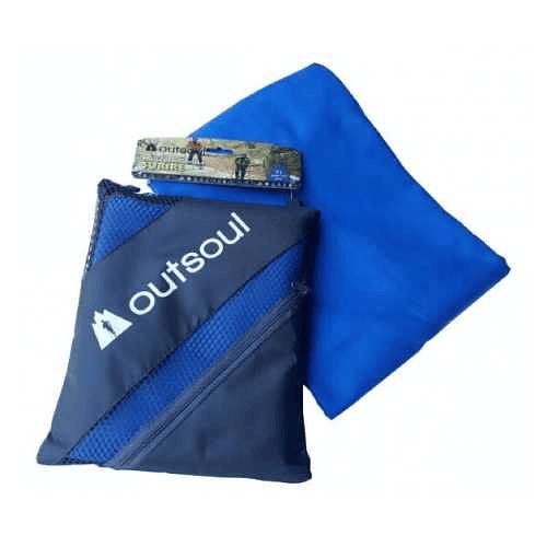 Toalla de Microfibra Surire XL Azul, Outsoul