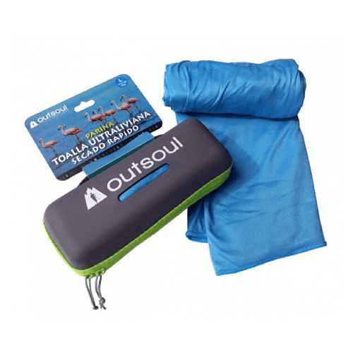Toalla de Microfibra Parina L Azul, Outsoul