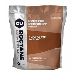 Recovery Drink Mix Roctane Ultra Endurance Chocolate Smoothie ( 15 servicios), Gu