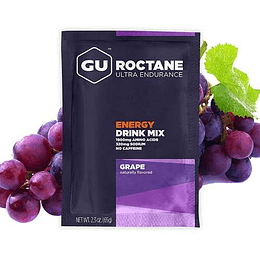 Roctane Ultra Endurance Grape (Sin cafeína), Gu