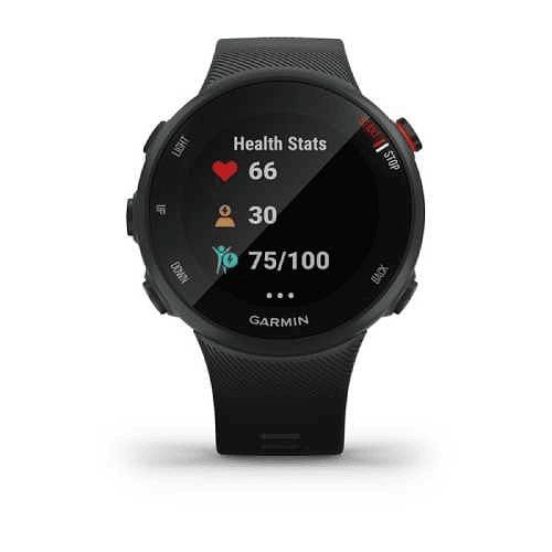 Reloj GPS Forerunner 45s negro, Garmin