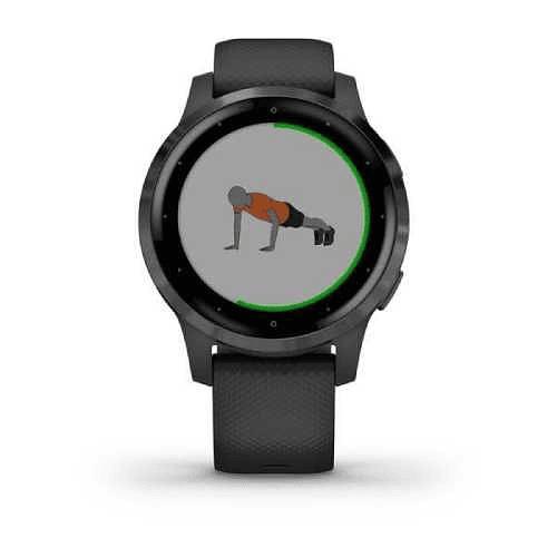Reloj GPS vivoactive 4s black slate, Garmin