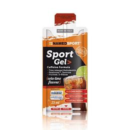 Gel Energetico de Cafeína cola sabor lima, Namedsport