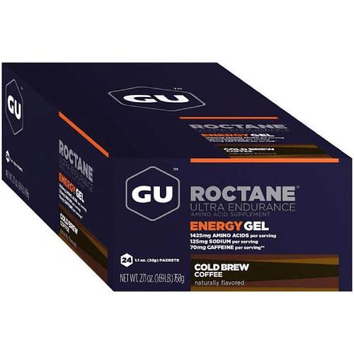 Energy Gel ROCTANE Cold Brew Coffe (24 Unid), GU