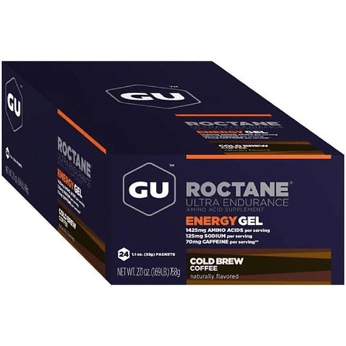 Energy Gel ROCTANE Cold Brew Coffe (24 Unid), GU