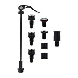 Kit adaptador de eje para rodillos de entrenamiento FLUX y NEO, Tacx