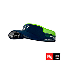 Nueva visera Ultralight Azul/Lima, Compressport
