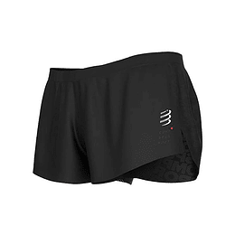 Racing split Short Black, Compressport