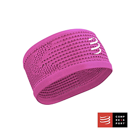 New headband ON/OFF pink, Compressport