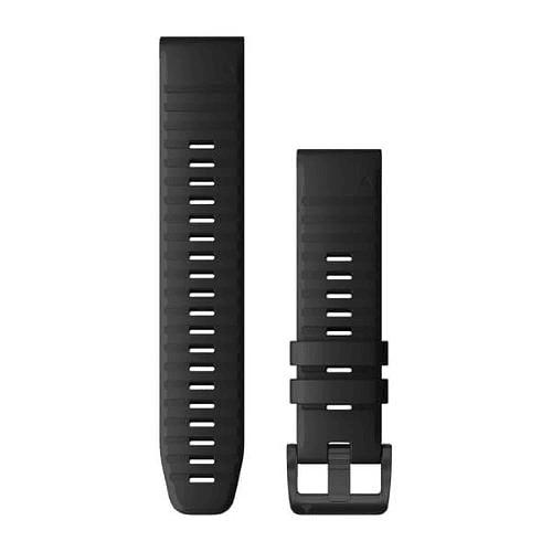 Correa negra QuickFit 22MM (Fenix 5/ 6/ FR 935/945/ Instinct), Garmin