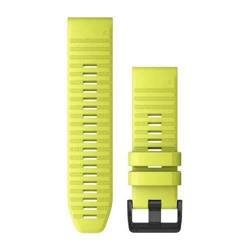 Correa silicona amarilla quickfit 26MM (FENIX 3/ 3 HR/ 5X/ 6X), Garmin