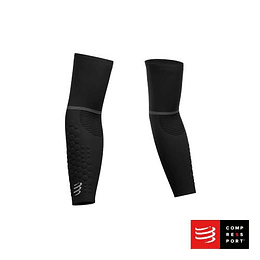 Nuevas Mangas ArmForce Ultralight Negras, Compressport
