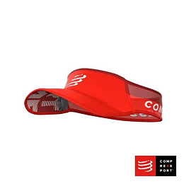 Nueva Visera Ultralight Roja, Compressport
