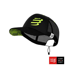 Nuevo Racing Trucker Cap Negro, Compressport