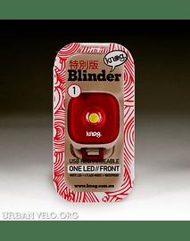 Luz Delantera Knog, Blinder
