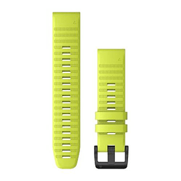 Correa QuickFit Silicona Amarilla 22mm ( Fenix 5/6), Garmin
