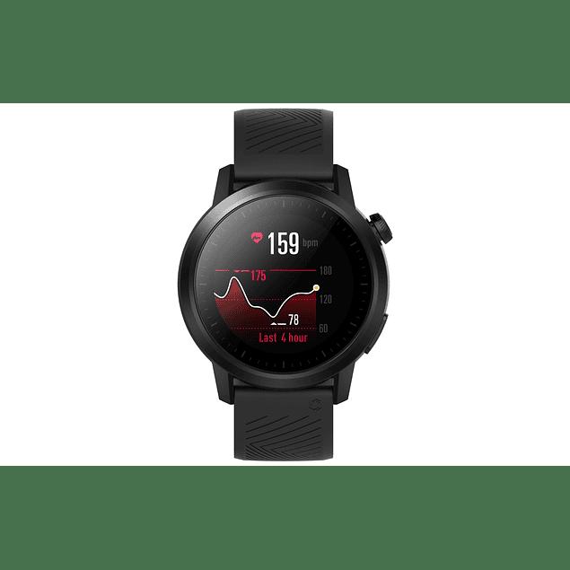 Coros APEX 42mm - Reloj Multisport con batería ultra duradera   Monitor de frecuencia cardíaca   Barómetro, Altímetro, Brújula   Conexiones ANT + y BLE    Cerámica / Titanio