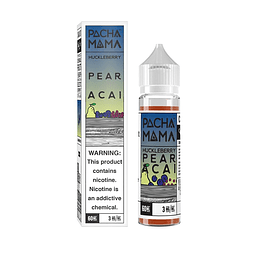 Líquido Pachamama - Huckleberry Pear Acai - 60ml/ Distintos sabores