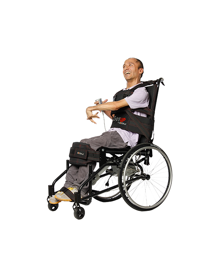 GetUp - The wheelchair that lets you stand up