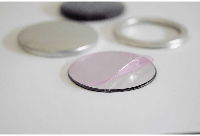 Plastic Mirror Button (100 units)