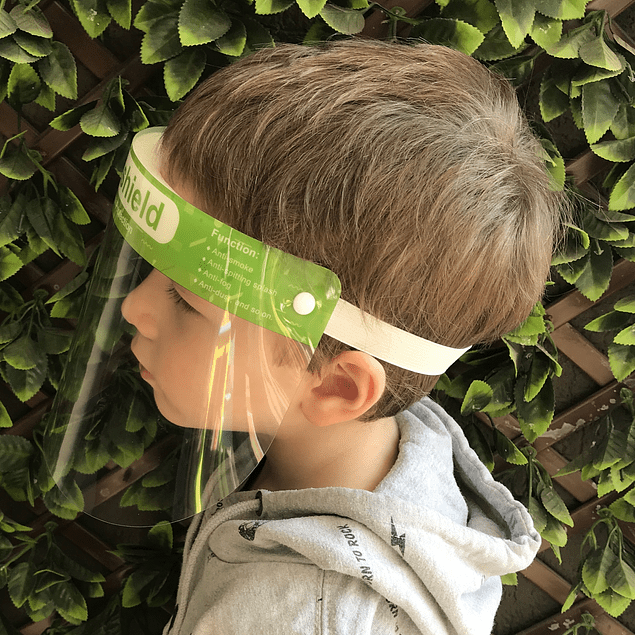 Protector facial infantil