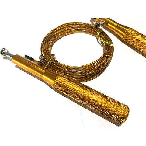 Cuerda de Salto y Velocidad - Mango Metálico