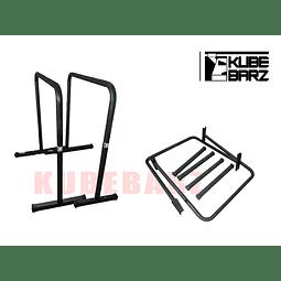 Paralelas Altas Kubebarz - Modelo Desarmable