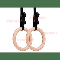 Anillas de Madera - (Modelo Importado)