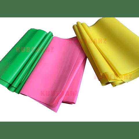 Set Bandas Elasticas Planas - 3 Pack