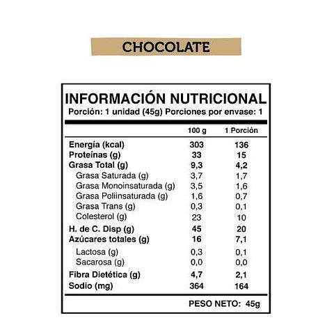 WILD PROTEIN CHOCOLATE 5 UNIDADES