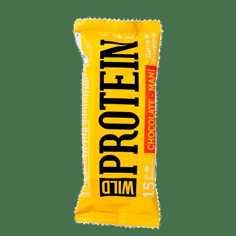 WILD PROTEIN CHOCOLATE MANI 5 UNIDADES