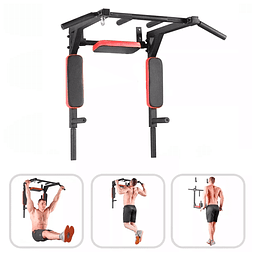 Barra Multifuncional de Pared - Pull Ups - Dips