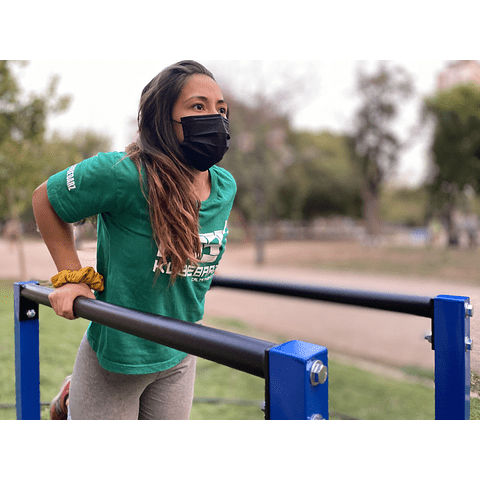 Paralelas Altas KB Freedom + Kit Adaptador Pull Ups
