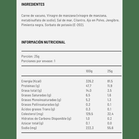 Yumi® Ajo – Jenjibre x 1 unidad - Vacuno Madurado