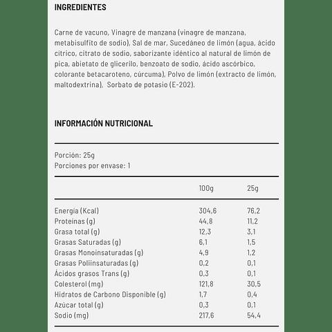 Yumi® Limón de Pica x 1 unidad - Vacuno Madurado