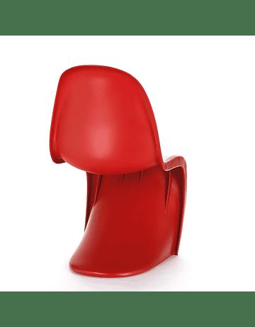 Silla Panton de Verner Rojo*