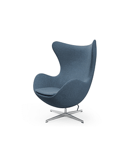 Silla sillon Huevo (Egg chair) Arne Jacobsen Azul