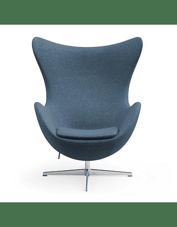 Silla sillon Huevo (Egg chair) Arne Jacobsen Azul