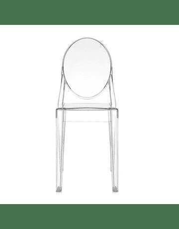 Silla Ghost Victoria Transparente* Policarbonato de Philippe Starck