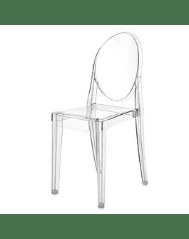 Silla Victoria Ghost Transparente Policarbonato de Philippe Starck