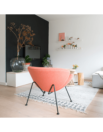 Pierre Paulin - Orange slice Rojo