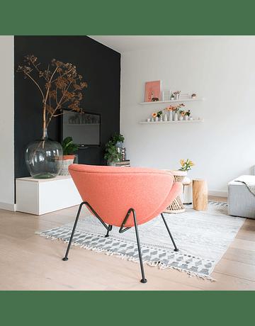 Silla poltrona Pierre Paulin - Orange slice Rojo