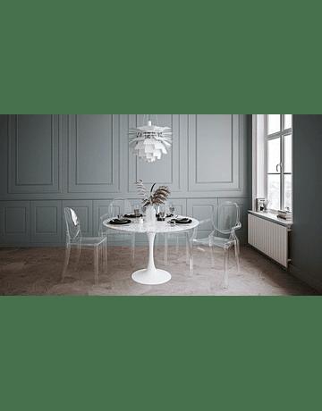 Silla Ghost Louis Transparente* con Apoyabrazos Policarbonato de Philippe Starck