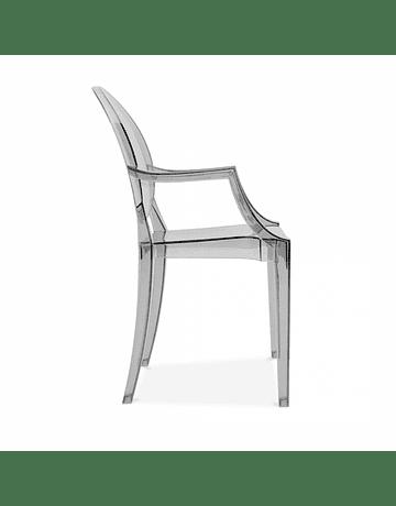 Silla Ghost Louis Fumé* con Apoyabrazos Policarbonato de Philippe Starck