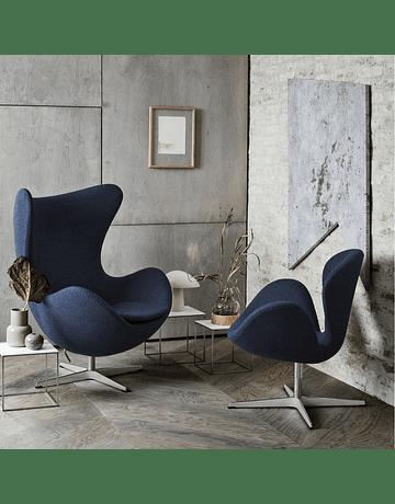 Silla sillon Huevo (Egg chair) Arne Jacobsen Azul*