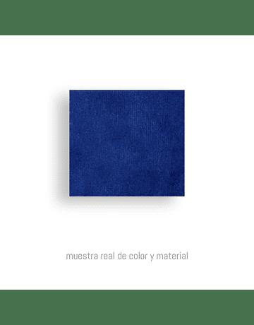 Banqueta Ottoman Terciopelo Azul* by Carlo Colombo