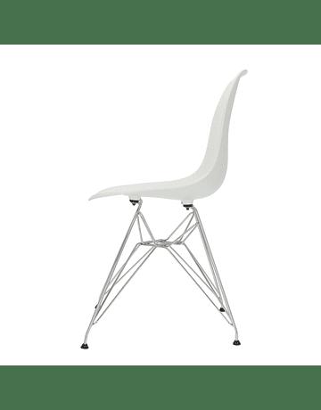 Silla Eames DSR con patas de metal EIFFEL